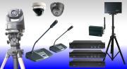 SWB-1 Bezprzewodowy system mikrofonowy z głosowaniem i kamerami wideo SWB-1